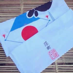 Set of Two Japanese Dish Towels